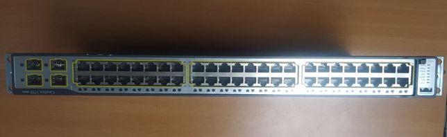 Коммутатор CISCO WS-C3750-48TS-E