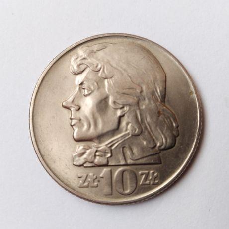 Stare monety z PRL-10 zł 1966+5 zł 1974 rybak.