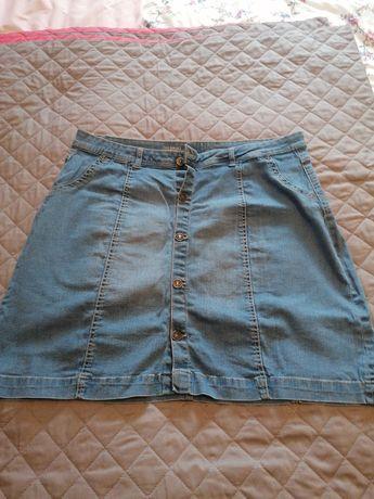 Spódniczka jeansowa  C&A