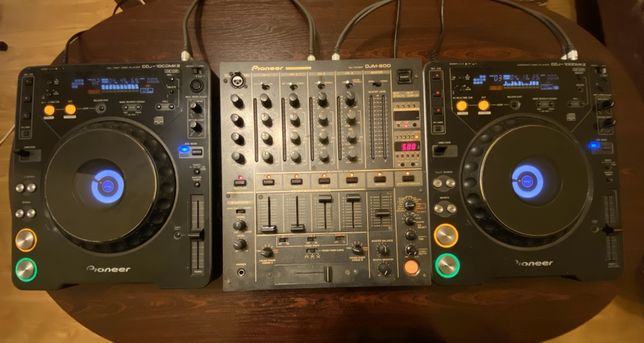 Pioneer DJM 600 & CDJ 1000mk2 x2