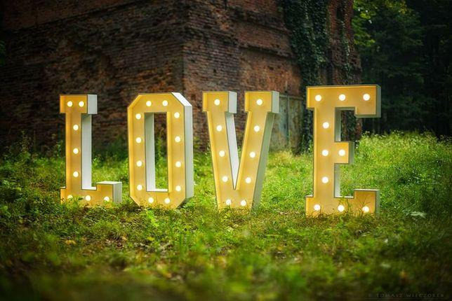Napis LOVE 1,2m sprzedam