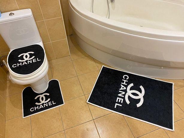 Коврики в ванную комнату Chane, Versac, Louis Vuitto, Gucc