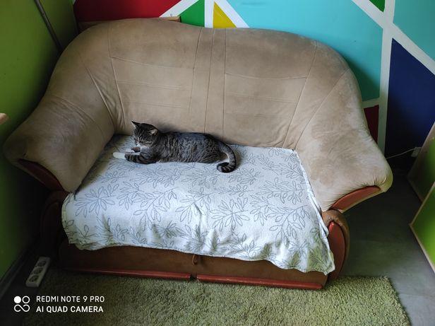 Sofa rozkladana dwuosobowa