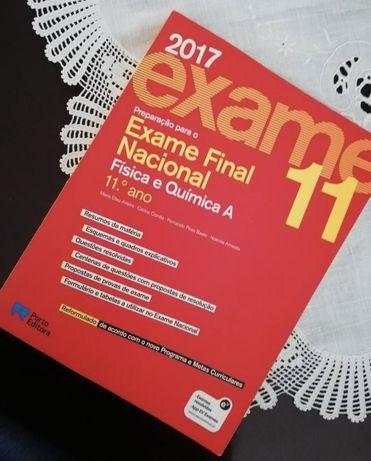 Livro preparação para exame Fisica e Quimica