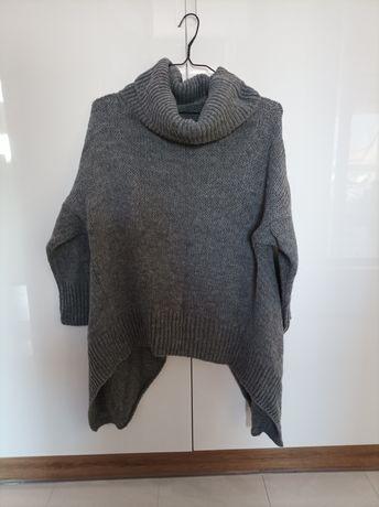 Wietrzenie szafy - oryginalny asymetryczny sweter S M