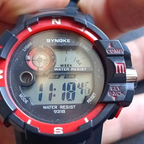 Fajny sportowy zegarek wzór Casio