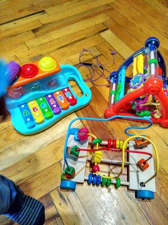 Набор лот игрушки развивающие