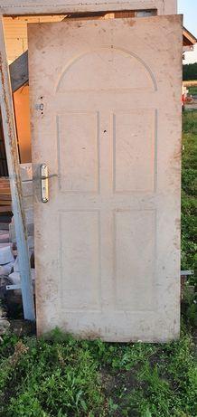 Drzwi budowlane tymczasowe