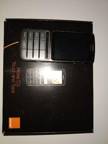 Nokia C3-01 Dotykowy ekran+klawiatura/metalowa obudowa/Włocławek/Toruń