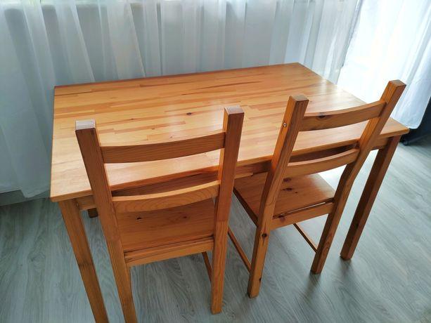 Stół i dwa krzesła ikea