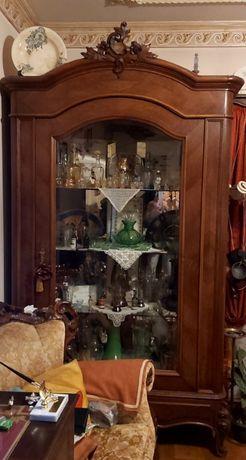 Cristaleira/vitrine antiga
