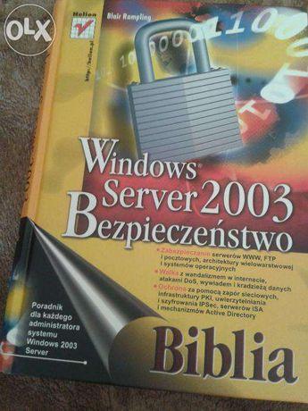 Windows Server 2003. Bezpieczeństwo. Biblia - Blair Rampling