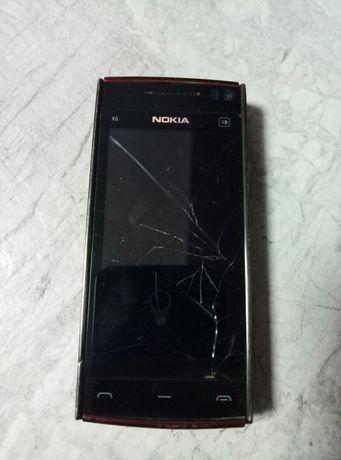 Мобильный телефон Nokia x6!