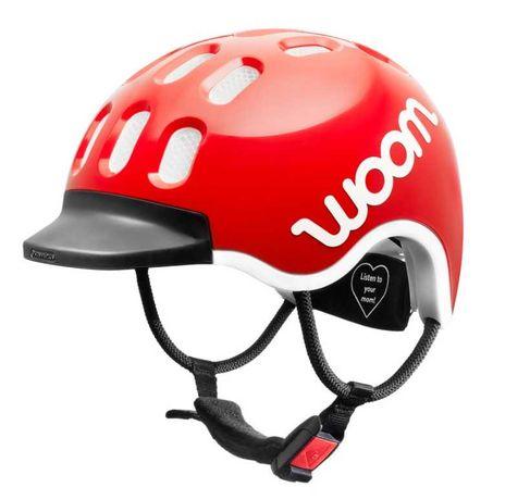 Kask rowerowy Woom kids 2 EU czerwony