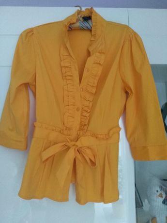 Żółta bluzka rozmiar XL