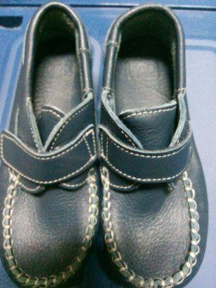 Sapato em pele tipo vela
