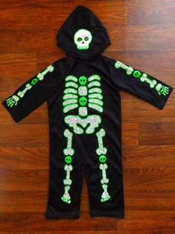 карнавальный костюм 12-24 года TU скелет кощей зеленый
