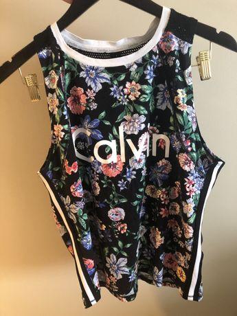 Oryginalna bluzka sportowa Calvin Klein