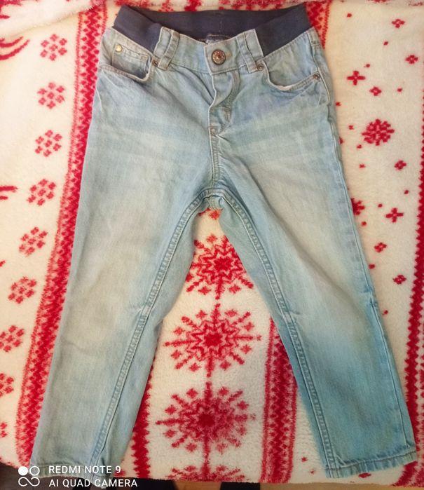 Spodnie dżinsowe chłopięce H&M rozm. 92 Kraków - image 1