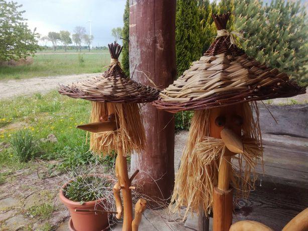 Bardzo ładne rzeżby do ogrodu na taras czy werandę 2 sztuki, rzeżba