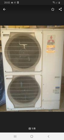 Pompa ciepła powietrze-woda Mitsubishi zubadan 14 kw
