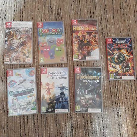 Lote de jogos NOVOS para Nintendo Switch