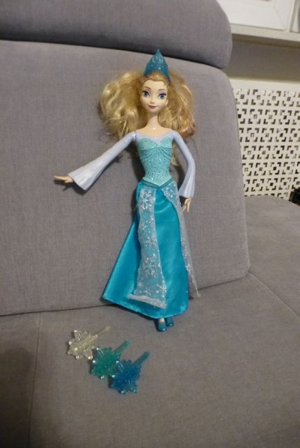 Mroźna Elsa strzelająca lodem, Kraina Lodu, Mattel