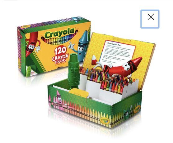 Карандаши Crayola 120 шт