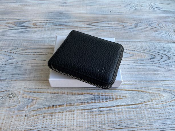 Мужской кожаный кошелек портмоне Calvin Klein