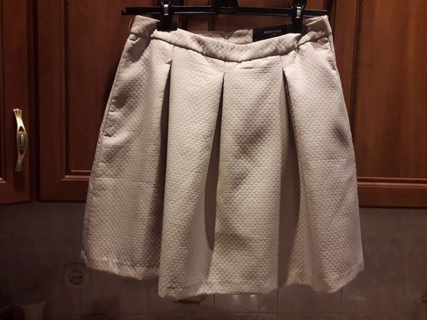 Reserved 42 spódnica pikowana