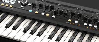 Klawiszowiec akordeon keyboard