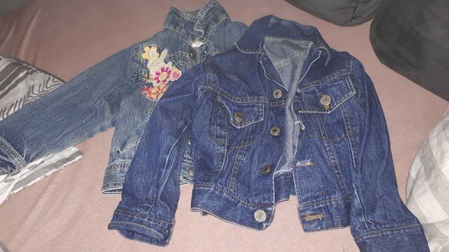 Kurteczka jeans 2szt