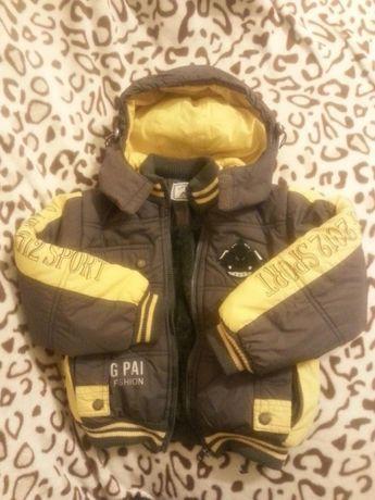 Курточка тепла, зима демисизон, якісна, 3, 4, 5. 104, 110, 116