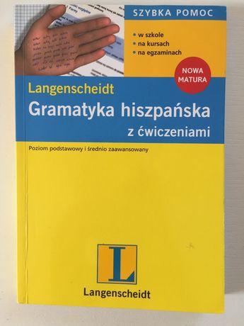 Gramatyka Hiszpańska z ćwiczeniami poziom podstawowy i średniozaawanso