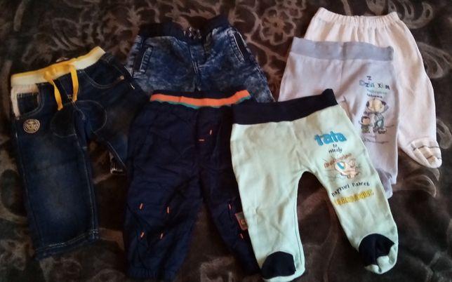 Komplet spodni dla chłopca rozmiar 62 - 68