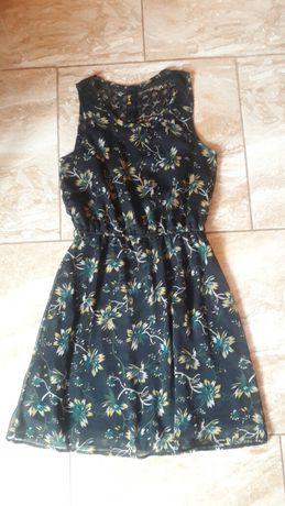 Sukienka mgiełka only w kwiaty roz 36