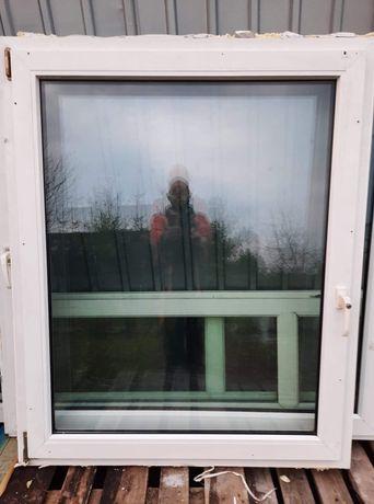 Okno PCV 144x 86 szerokości  sprawne Reda Transport