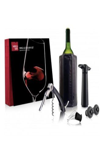 Продам подарунковий набір Wine Accessory Set VacuVin