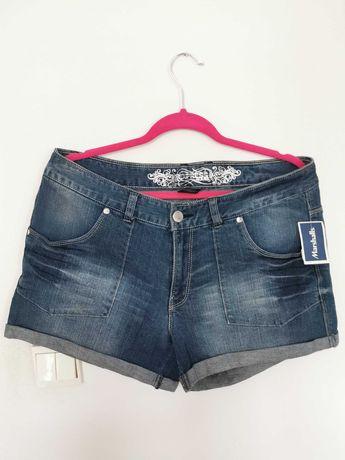 Nowe spodenki jeansowe firmy Express, rozmiar XL