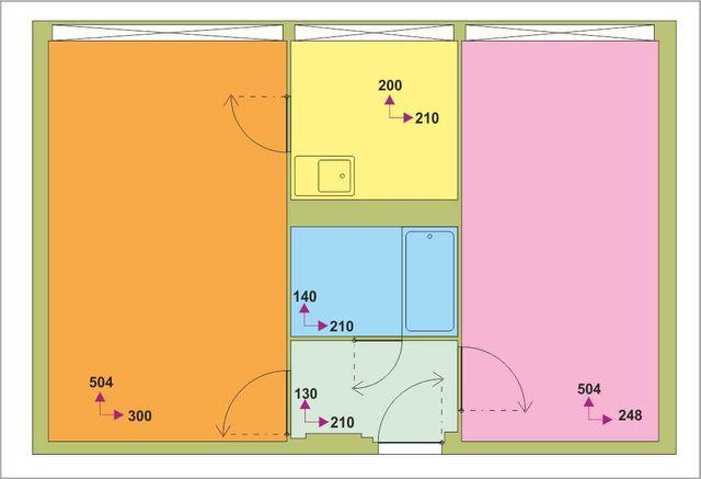Sprzedam mieszkanie dwupokojowe /KRZYKI/ ul.Kamienna