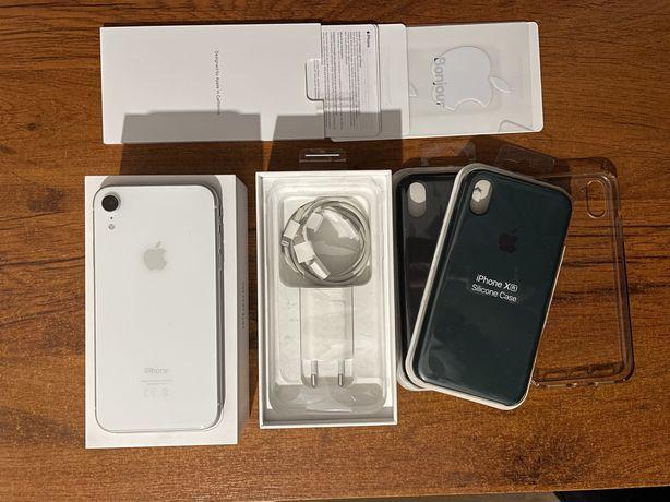 Apple iPhone Xr 64GB Biały [Bateria 100%]
