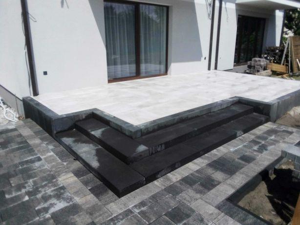 Układanie kostki brukowej,montaż ogrodzeń panelowych i betonowych