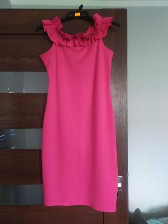 Sukienka fuksja L-XL