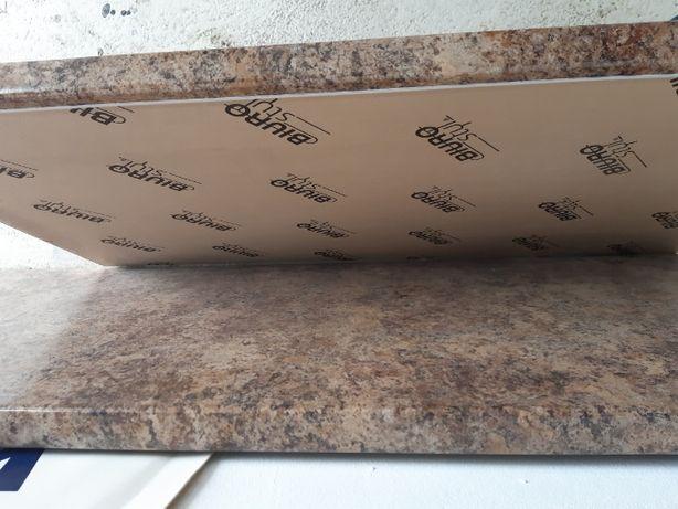 Blat Biuro Styl, granit złoty, 600 mm x 38 mm