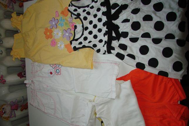 Пакет вещей для девочки на 2-3 года