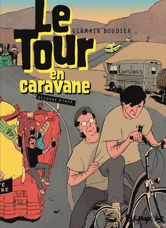 Książka Komiks TOUR DE FRANCE Koloarstwo Paryż Francja