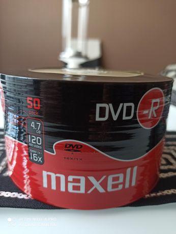 DVD-R Maxell 50 sztuk