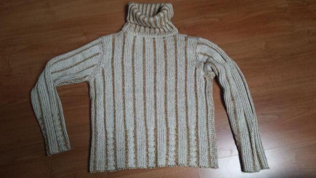 golf , sweter , beż