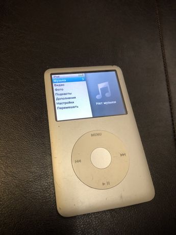 Продам ipod classic160 gb silver в хорошем состоянии!