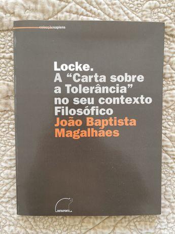 "Locke. A ""Carta sobre a Tolerância"" no seu contexto Filosófico"
